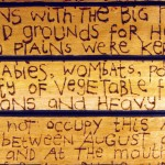 1987. Bodyworks. Aboriginal Memories. Tasmanian Marks & Relics